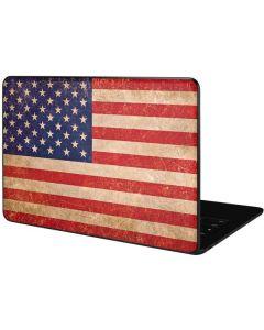 Distressed American Flag Google Pixelbook Go Skin