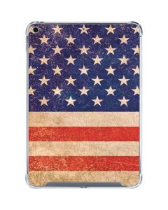 Distressed American Flag iPad 10.2in (2019-20) Clear Case
