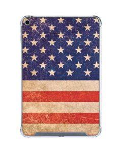 Distressed American Flag iPad Mini 5 (2019) Clear Case