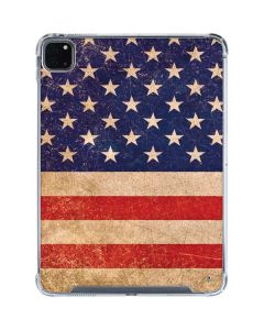 Distressed American Flag iPad Pro 11in (2020) Clear Case
