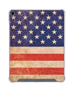 Distressed American Flag iPad Pro 12.9in (2018-19) Clear Case