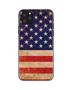 Distressed American Flag iPhone 11 Pro Max Skin