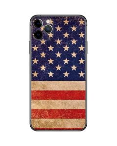 Distressed American Flag iPhone 11 Pro Max Skin