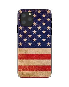 Distressed American Flag iPhone 11 Pro Skin