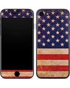 Distressed American Flag iPhone SE Skin