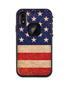 Distressed American Flag LifeProof Fre iPhone Skin