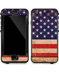Distressed American Flag LifeProof Nuud iPhone Skin