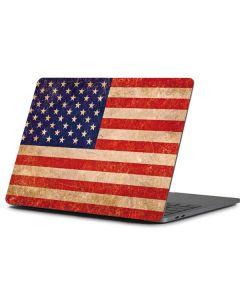 Distressed American Flag Apple MacBook Pro 13-inch Skin