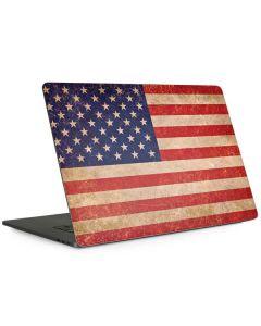 Distressed American Flag Apple MacBook Pro 15-inch Skin