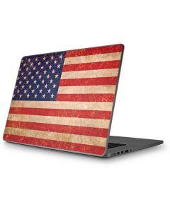 Distressed American Flag Apple MacBook Pro 17-inch Skin