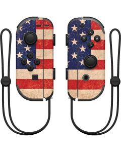 Distressed American Flag Nintendo Joy-Con (L/R) Controller Skin