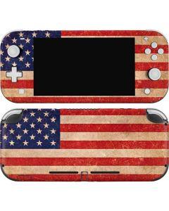 Distressed American Flag Nintendo Switch Lite Skin