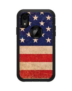 Distressed American Flag Otterbox Defender iPhone Skin