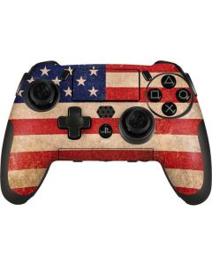 Distressed American Flag PlayStation Scuf Vantage 2 Controller Skin