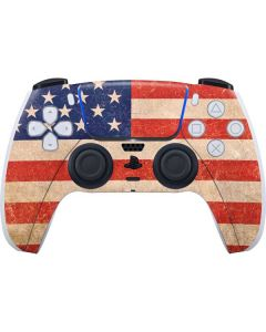 Distressed American Flag PS5 Controller Skin