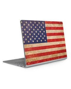 Distressed American Flag Surface Book 2 13.5in Skin
