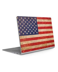 Distressed American Flag Surface Book 2 15in Skin