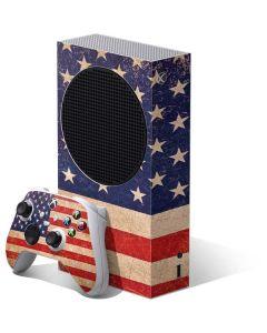Distressed American Flag Xbox Series S Bundle Skin