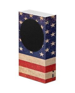 Distressed American Flag Xbox Series S Console Skin