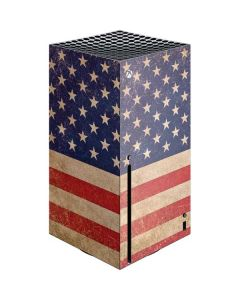 Distressed American Flag Xbox Series X Console Skin