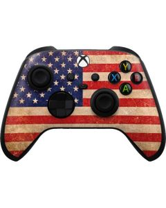 Distressed American Flag Xbox Series X Controller Skin