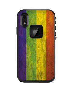 Distressed Rainbow Flag LifeProof Fre iPhone Skin