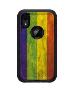 Distressed Rainbow Flag Otterbox Defender iPhone Skin