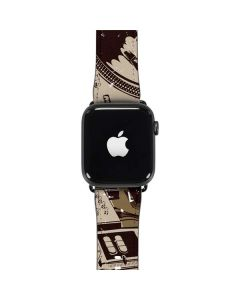 DJ Spinning Apple Watch Band 42-44mm