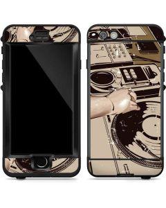 DJ Spinning LifeProof Nuud iPhone Skin