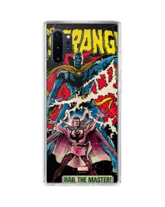 Doctor Strange Hail The Master Galaxy Note 10 Plus Clear Case