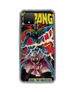 Doctor Strange Hail The Master Google Pixel 4 Clear Case