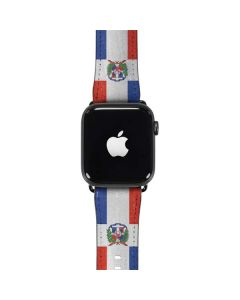 Dominican Republic Flag Distressed Apple Watch Case