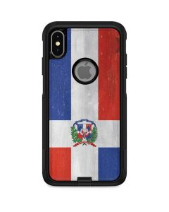 Dominican Republic Flag Distressed Otterbox Commuter iPhone Skin
