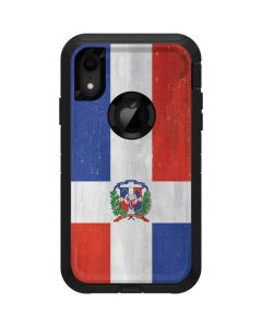 Dominican Republic Flag Distressed Otterbox Defender iPhone Skin