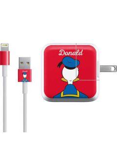 Donald Duck Backwards iPad Charger (10W USB) Skin