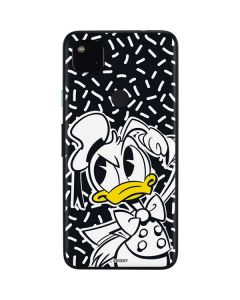 Donald Duck Thinking Google Pixel 4a Skin