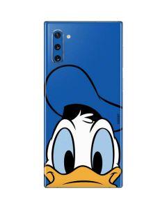 Donald Duck Up Close Galaxy Note 10 Skin