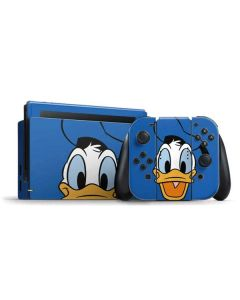 Donald Duck Up Close Nintendo Switch Bundle Skin