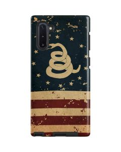 Dont Tread On Me American Flag Galaxy Note 10 Pro Case