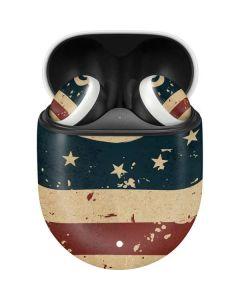Dont Tread On Me American Flag Google Pixel Buds Skin