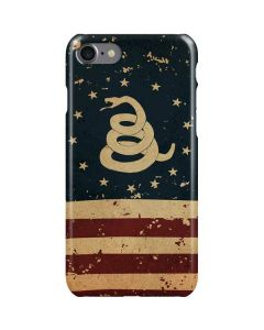 Dont Tread On Me American Flag iPhone SE Lite Case