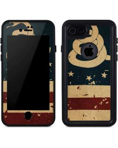 Dont Tread On Me American Flag iPhone SE Waterproof Case