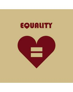 Equality Heart Generic Laptop Skin