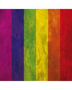 Distressed Rainbow Flag Generic Laptop Skin