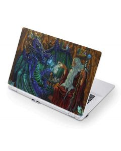 Dragon and Wizard Playing Chess Acer Chromebook Skin