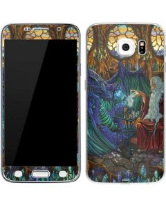 Dragon and Wizard Playing Chess Galaxy S6 Skin