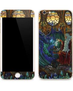Dragon and Wizard Playing Chess iPhone 6/6s Plus Skin
