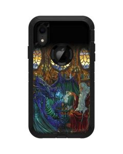 Dragon and Wizard Playing Chess Otterbox Defender iPhone Skin