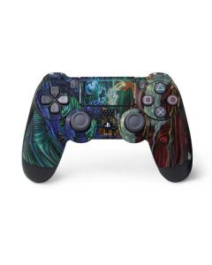 Dragon and Wizard Playing Chess PS4 Pro/Slim Controller Skin
