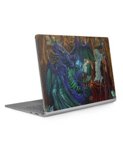 Dragon and Wizard Playing Chess Surface Book 2 13.5in Skin
